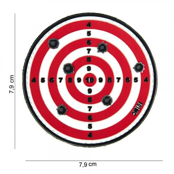 Target Within PVC Embleem met Klitteband