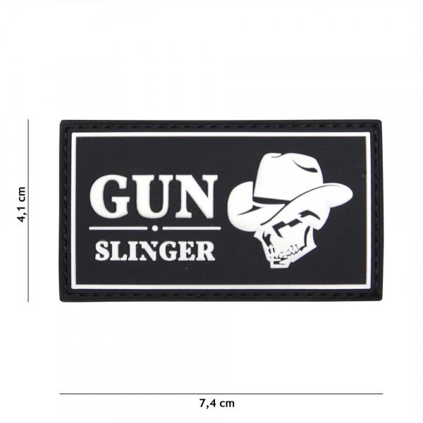 Gun Slinger PVC Embleem met Klitteband