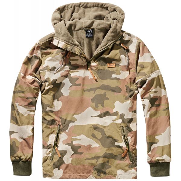 Army Luke Windbreaker Woodland
