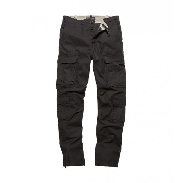 Vintage Industries Pack Pants Black