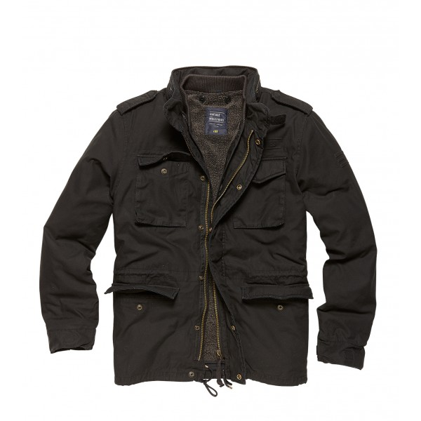 Army A-Level Parka Off Black