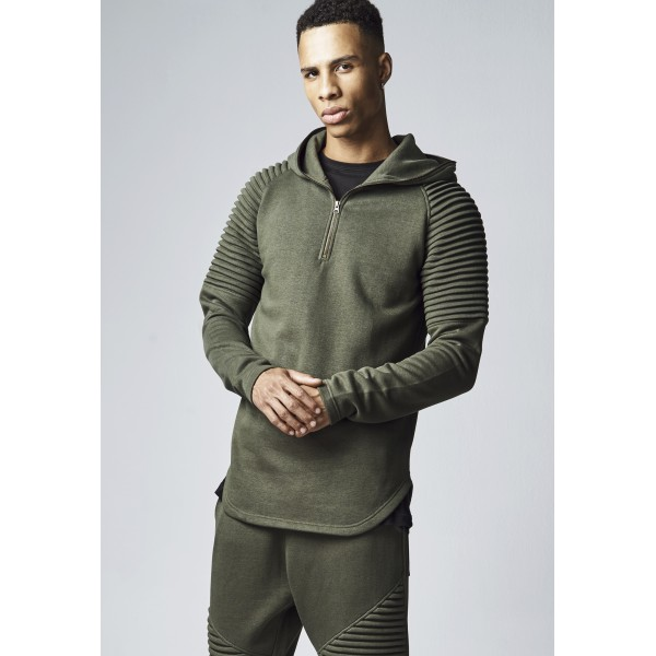 Urban Classics Sweater Pleat Olive
