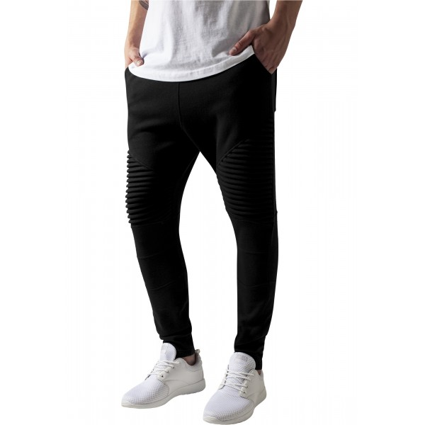 Urban Classics Pleat Sweatpants Black